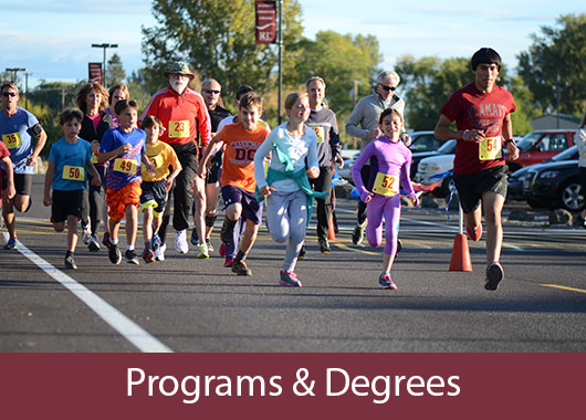 KCC Programs and Degree selections