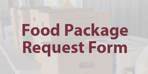 Food Package Request Form
