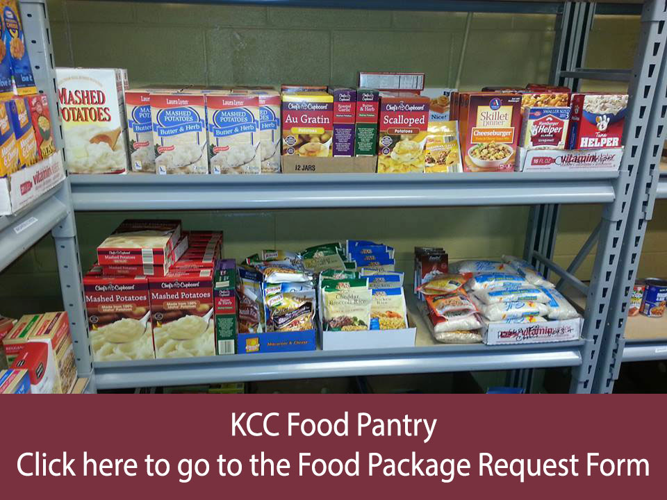 KCC Food Pantry Request